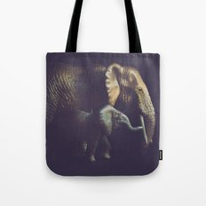 Old and Young Tote Bag