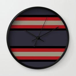The Boldest Stripes, Wall Clock