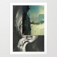 sci fi Art Prints featuring sci-fi nature by Hugo Barros
