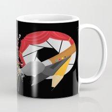 Blender with a Splatter Mug