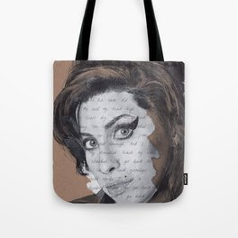 Back to Black Tote Bag