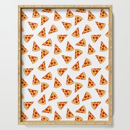 PIZZA FAST FOOD PATTERN Serving Tray