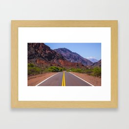Route 68 Framed Art Print