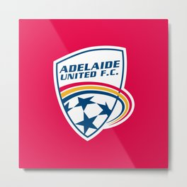 adelaide united Metal Print