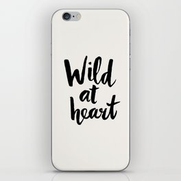 Wild at Heart iPhone Skin