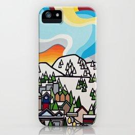 Almost Apres Ski iPhone Case