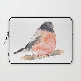 Clarence the Bullfinch Laptop Sleeve
