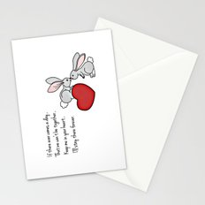 Snuggle Bunnies Stationery Cards