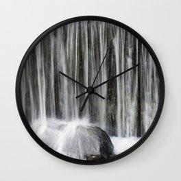Waterfall I Wall Clock