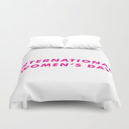 International Women's Day Aesthetic Duvet Cover