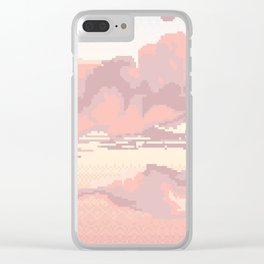 Lace Sky Clear iPhone Case