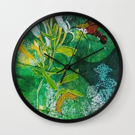 Neither Bird, Nor Bee, Nor Flying Crawfish Wall Clock