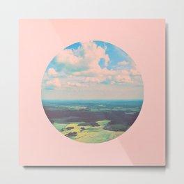 Earthy Pink Metal Print