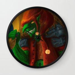 The dreams thief Wall Clock