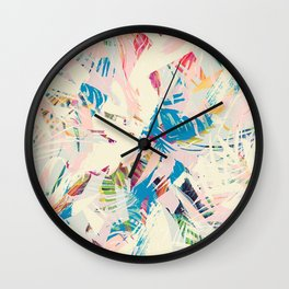 Palm Twist Wall Clock