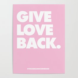 Give Love Back Poster