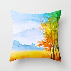 Autumn scenery #11 Throw Pillow