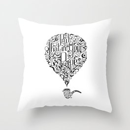 In Your Pipe Throw Pillow
