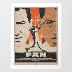 The FAN - Tony Scott Art Print