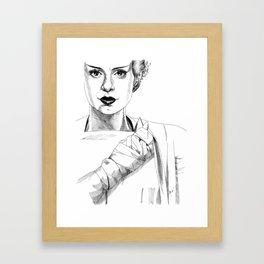 The Bride #2 Framed Art Print