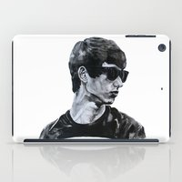 sunglasses iPad Cases featuring Sunglasses by Charlotte Massey