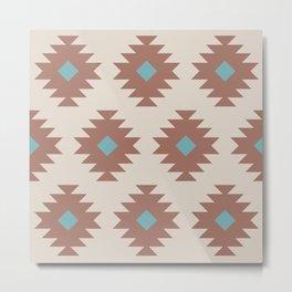Southwestern Pattern 546 Metal Print
