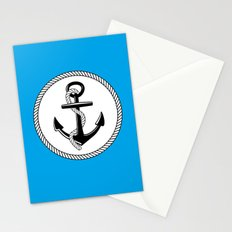 Anchors Up Stationery Cards