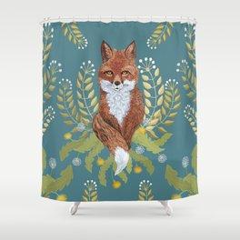 Fox Brown Shower Curtain