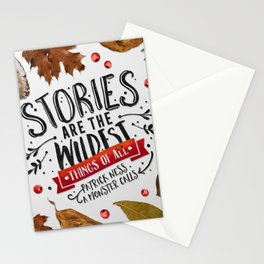 Wildest things of all Stationery Cards