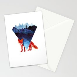 Risky road Stationery Cards