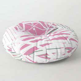 Pink Pylons Floor Pillow