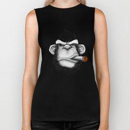 Cigar Monkey Biker Tank