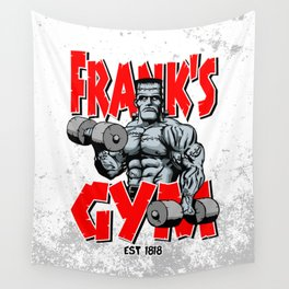 Frank's Gym Wall Tapestry