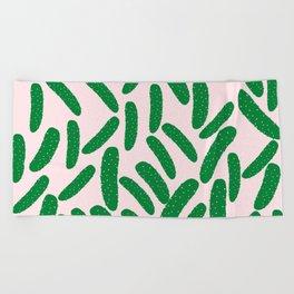 Cute Pickles Beach Towel