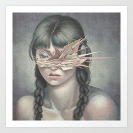 Vertices 03 Art Print