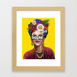 Something Dope Revised Framed Art Print