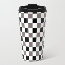 Trippy Checkerboard Travel Mug
