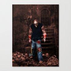 Splatterhouse Canvas Print