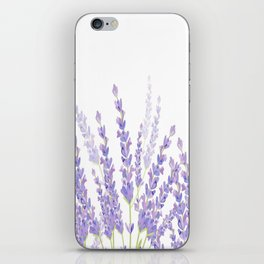 Lavender in the Field iPhone Skin