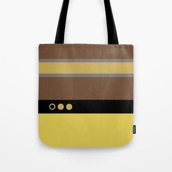 Geordie La Forge - Minimalist Star Trek TNG The Next Generation - 1701 D startrek Trektangles Tote Bag