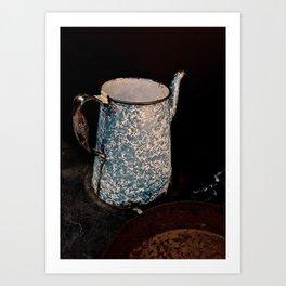 Coffee Pot, Haunted Stove- Hell's gate, B.C. Art Print