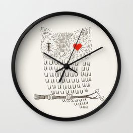 I Love Uuuuuuuu Wall Clock