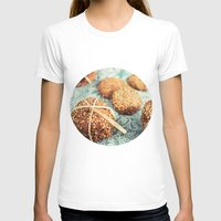 cookies T-shirts featuring Cookies by Leonor Saavedra