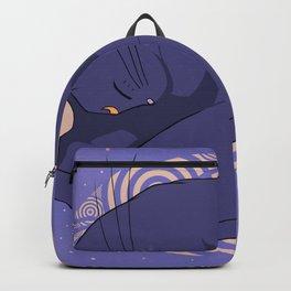 Sleeping MoonCat Backpack
