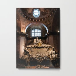 Sarcophagus of Empress Maria Theresa, Imperial Crypt, Vienna Metal Print