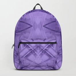 Violet pattern Backpack