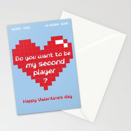 Love for Gamers Stationery Cards