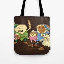 Yep, just a little bit of fairy peanut butter Tote Bag