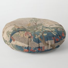 View of Boston Common by Hannah Otis (c 1750) Floor Pillow