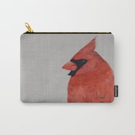 Red Cardinal Watercolour Carry-All Pouch